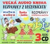 3CD-Večerníčky-Danka a Janka, Maťko a Kubko, Psíček a Mačička.