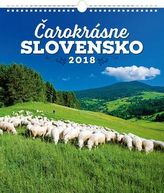 Čarokrásne Slovensko 2018 - nástěnný kalendář