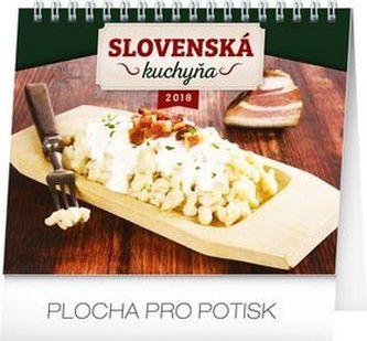Slovenská kuchyňa - stolný kalendár 2018