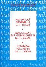 Historický zborník 16 č. 1-2/2006