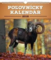 Poľovnícky - nástěnný kalendár 2018