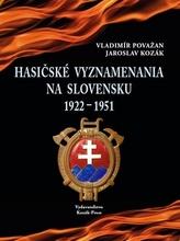 Hasičské vyznamenania na Slovensku 1922 - 1951