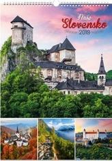 Naše Slovensko - Nástěnný kalendář 2019