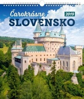 Čarokrásne Slovensko - nástěnný kalendář 2019