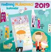 Rodinný plánovací kalůendář - nástěnný kalendář 2019