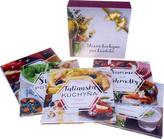 Balíček 5 ks Pečieme zdravo+Superpotraviny+Talianska kuchyňa+Varíme zo záhradky+