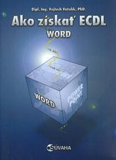 Ako získať ECDL Word