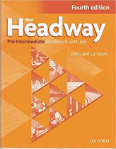 New Headway 4th edition Pre-Intermediate Workbook with key (without iChecker CD-ROM)