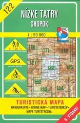 Nízke Tatry Chopok 1 : 50 000