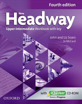 New Headway 4th edition Upper-Intermediate Workbook with key (without iChecker CD-ROM)