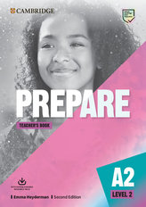 Prepare Second edition Level 2 Teacher´s Book with Downloadable Resource Pack