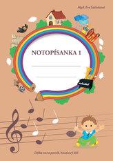 Notopísanka 1 - Délka not a pomlk, houslový klíč