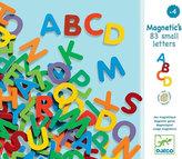 Djeco Magnetická písmenka malá 83ks