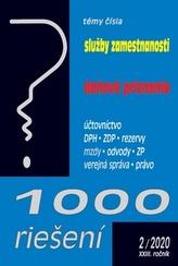 1000 riešení Služby zamestnanosti, daňové priznanie