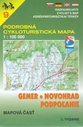 Gemer, Novohrad, Podpolanie 1:100 000