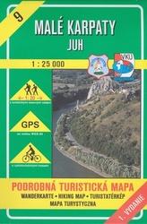 Malé Karpaty - juh 1 : 25 000