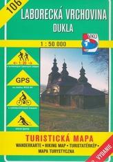 Laborecká vrchovina Dukla 1 : 50 000
