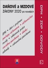 Daňové a mzdové zákony 2020 po novelách