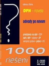 1000 riešení DPH - novela, odvody po novom