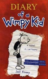 Diary of a Wimpy Kid. Gregs Tagebuch - Von Idioten umzingelt!, englische Ausgabe