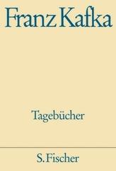 Tagebücher in der Fassung der Handschrift, Textbd. u. Kommentarbd., 2 Bde.