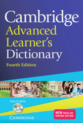 Cambridge Advanced Learner's Dictionary, w. CD-ROM