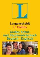 Langenscheidt Collins Großes Schul- und Studienwörterbuch Deutsch-Englisch