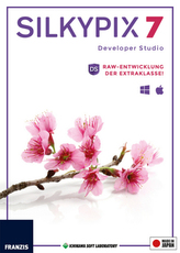 Silkypix Developer Studio 7 (Win & Mac), CD-ROM