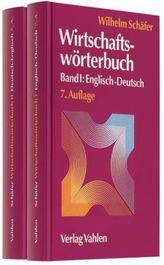 Wirtschaftswörterbuch Deutsch-Englisch & Englisch-Deutsch, 2 Bde.