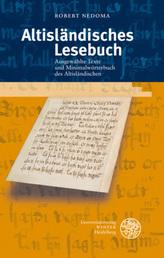 Altisländisches Lesebuch