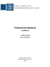 Podnikové financie - praktikum