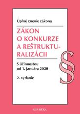 Zákon o konkurze a reštrukturalizácii. Úzz, 2.vyd., 2020