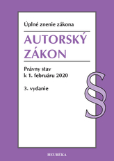 Autorský zákon. Úzz, 3. vyd, 2020