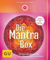 Die Mantrabox - 50 Karten u. Audio-CD