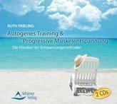 Autogenes Training & Progressive Muskelentspannung, 2 Audio-CDs