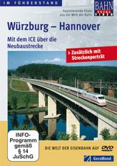 Würzburg - Hannover, 1 DVD