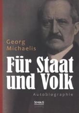 Für Staat und Volk. Autobiographie