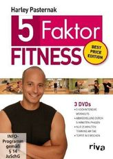 5-Faktor-Fitness, 3 DVDs (Best Price Edition)