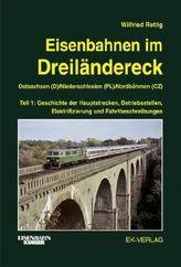 Eisenbahnen im Dreiländereck, Ostsachsen (D), Niederschlesien (Pl), Nordböhmen (CZ). Tl.1