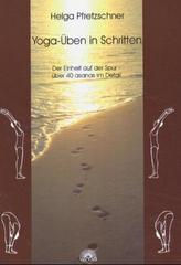 Yoga-Üben in Schritten