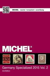 MICHEL Germany Specialized Catalogue 2015. Vol.2