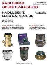 Kadlubek's Objektiv Katalog. Kadlubek's Lens Catalogue