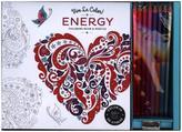 Vive le Color! Energy Coloring Book, w. Pencils