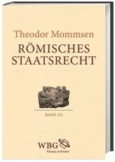 Römisches Staatsrecht, 3 Teile