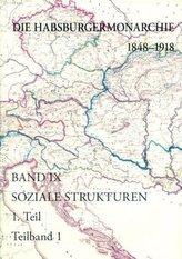 Die Habsburgermonarchie 1848-1918 / Die Habsburgermonarchie 1848-1918 Band IX/1: Soziale Strukturen: Von der feudal-agrarischen