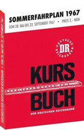 Kursbuch der Deutschen Reichsbahn - Sommerfahrplan 1967