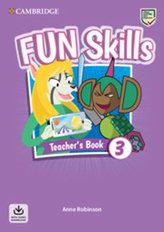 Fun Skills 3 Teacher´s Book with Audio Download