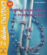 Šperky z korálikov v tvare motýlika