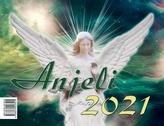 Anjeli 2021 - stolový kalendár