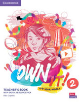 Own it! 2 Teacher´s Book with Digital Resource Pack